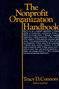 Nonprofit Organization Handbook, 1980